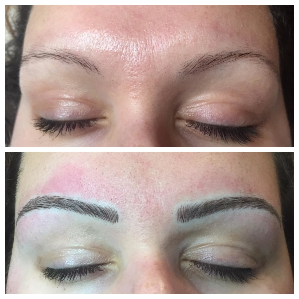 Aftercare instructions for your microblading procedure